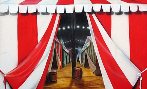 Tent Entrance Scene