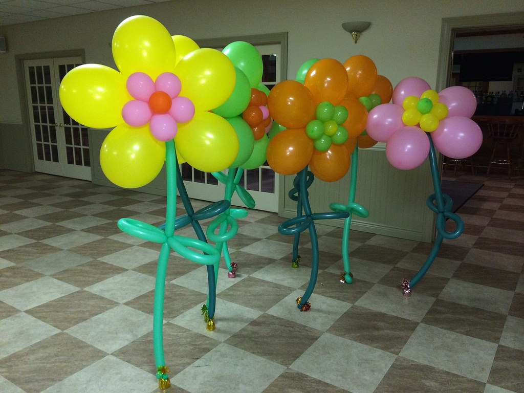 Balloon decorations nj small centerpieces life o the