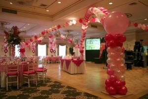 Valentine's Day Balloon Arrangements