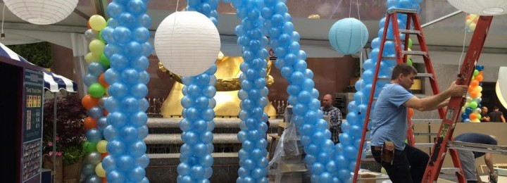 Check Out Our Balloon Arrangements for the Promo of Meredith Vieira's Talk Show