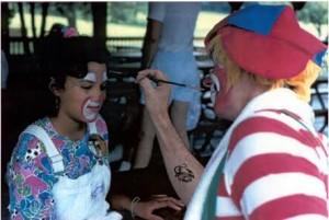 clown facepaint
