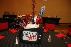 themed centerpiece