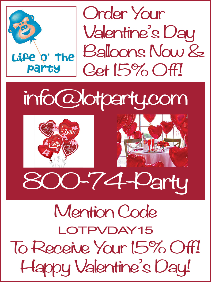 Valentine's Day - Get 15% Off