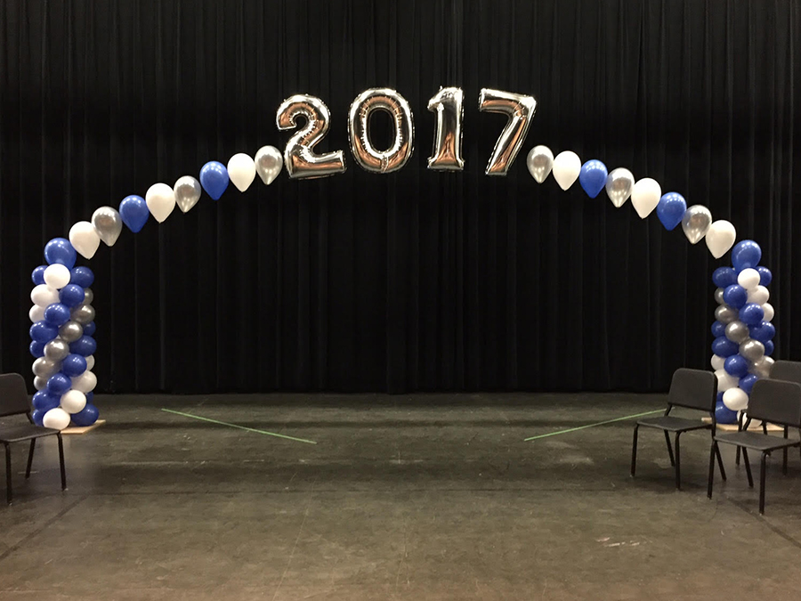 Northern Valley Regional HS Balloon Arch