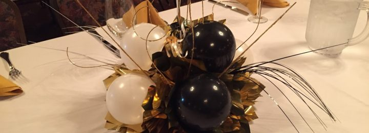 A Happy 60th Birthday – Party Balloons and Centerpieces at the Barnyard & Carriage House, NJ