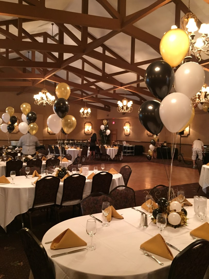 After 60th Birthday Party Balloons