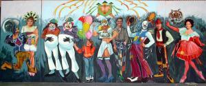 Mardi Gras Theme Props