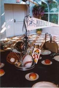 Sports Theme Props, Sports Theme Centerpieces