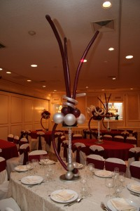 Balloon Art, Basics- Centerpieces, Indoor Balloon Decoration