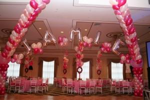 Foil Balloon Arch, Mylar Balloon Arch, Balloon Letters