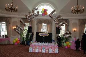 Foil Balloon Arch, Balloon Letters, Foil Arch