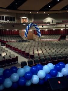 Balloon Arch, Double Balloon Arch