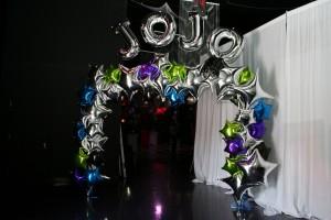 Balloon Arch, Foil Balloon Arch