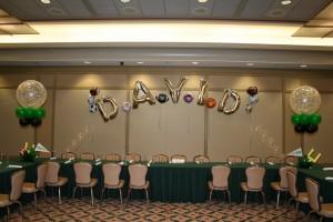 Balloon Arch, Balloon Columns, Single Balloon Arch