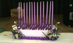 Custom Design Candle Pieces, Candle Lighting Centerpieces, Candle Lighting Pieces & Candles
