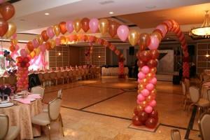 Balloon Arch, Packed Balloon Arch