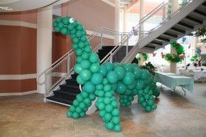 Balloon Sculpture, Dinosaurs Balloon Animal, Balloon Animal
