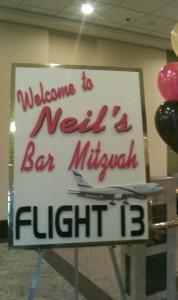 Bar Mitzvah Sign