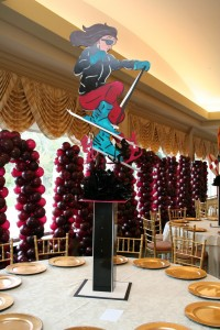 Theme Centerpieces, Character Centerpieces, Sports Theme Centerpieces