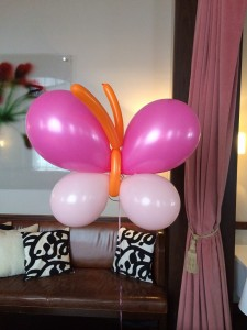 Indoor Balloon Art, Balloon Art, Pink Balloon Art
