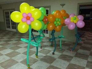 Balloon Art, Balloon Centerpieces