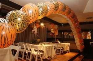 Double Balloon Arches