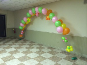 Balloon Art, Balloon Arch, Double Balloon Arch