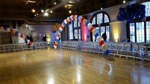 Single Balloon Arches