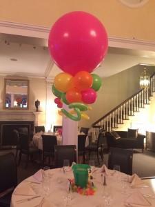 Balloon Basics Centerpieces