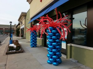 Petco Balloon Columns