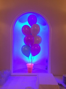 Balloon Centerpieces, Indoor Balloon Decoration
