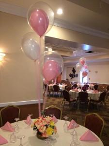 Balloon Centerpieces, Indoor Balloon Decoration