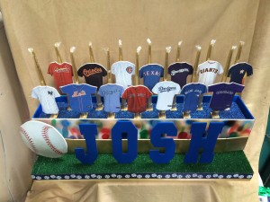 Fun and Hyper-Detailed Candle Lightning, Unique Candle Pieces, Baseball Theme Candle Lighting