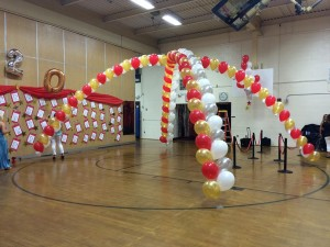 Double Balloon Arches