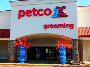 Petco Balloon Columns, Petco Balloon Decoration