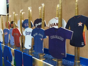 Unique Candle Pieces, Baseball Theme Candle Lighting, Bat Mitzvah Candle Lighting Ideas