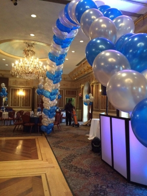 Balloon Arch, Double Balloon Arch, Indoor Balloon Decoration