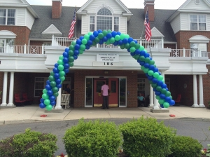 Balloon Arch, Colorful Balloons, Packed Balloon Arch