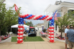 Door frame Balloon Arch,   Packed Balloon Arch, Colorful Balloons, Outdoor Balloon Decoration, Balloon Columns