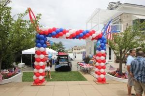 Door frame Balloon Arch,   Packed Balloon Arch, Colorful Balloons, Outdoor Balloon Decoration, Balloon Columns