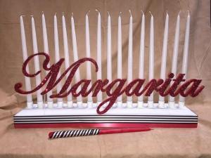 Sweet 16 Candle Lighting Pieces, Bat Mitzvah Candle Lighting Ideas, Candle Lighting Centerpieces