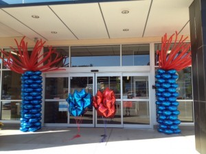 Petco Balloon Columns, Petco Balloon Decoration, Petco Balloon Centerpieces