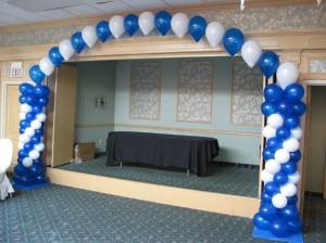 Door Frame Balloon Arches