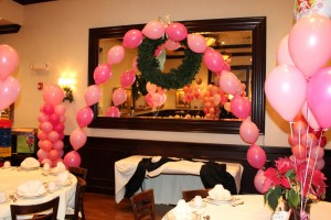 Single Balloon Arch, Balloon Centerpieces, Pink Balloons