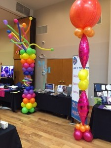 Balloon Basic, Balloon Columns, Colorful Balloon Decoration