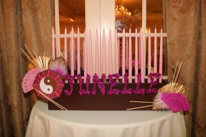 Candle Lighting Centerpieces, Candle Lighting Pieces & Candles , Pink and Pretty