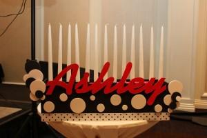 Candle Lighting Centerpieces, Bat Mitzvah Candle Lighting Ideas, Candle Lighting Pieces & Candles