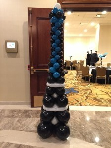Balloon Column, Balloon Sculpture