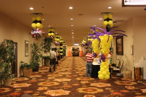 Balloon Columns, Balloon Basic, Balloon Decoration, Event and Party Decoration