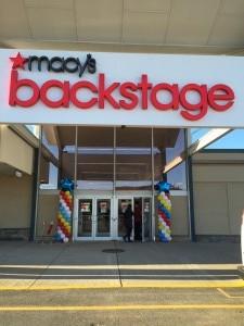 Balloon Columns, Macy's Balloon Columns, Entry Door Balloon Columns